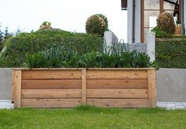 Einfach bequem garteln - mit unserem Hochbeet aus heimischen Lärchenholz!